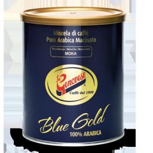 barattolo blu gold - La Genovese