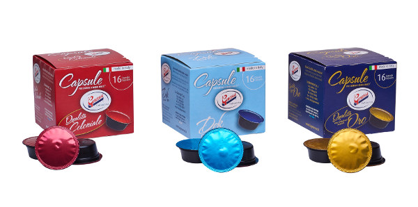 """Nuovi prodotti: Capsule Compatibili """"Lavazza A Modo Mio"""""""